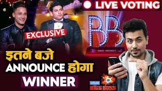 Bigg Boss 13 Grand Finale | Sidharth Vs Asim | Winner Announcement Details