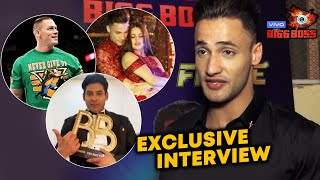 Asim Riaz Interview After Bigg Boss 13 | John Cena, Himanshi Khurana, Sidharth Shukla | BB 13