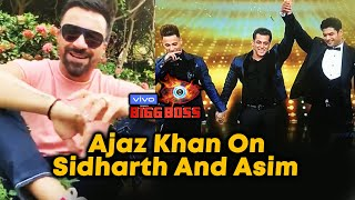 Ajaz Khan FINAL Reaction On Asim Riaz And Sidharth Winning Bigg Boss 13