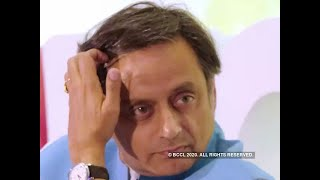 Defamation case: Rs 5000 fine imposed on Tharoor for not appearing before court