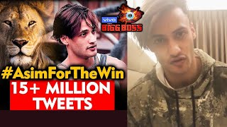 Asim Riaz Reaction On His 15 MILLION Record Trend, Asim Squad | Bigg Boss 13 Live Chat