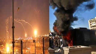 Baghdad के अमेरिकी दूतावास पर बड़ा attack // THE NEWS INDIA