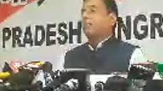 Randeep Singh Surjewala addresses media in Chandigarh on Telecom Crisis