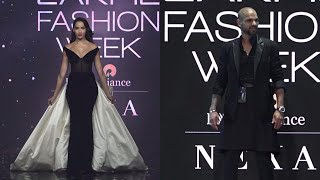 Shikhar Dhavan & Norah Fatehi  On Ramp In LFW SR 2020 | News Remind