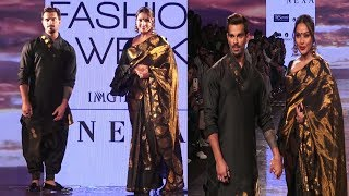 Karan Singh Grover & Biphasa On Ramp In LFW SR 2020  | News Remind