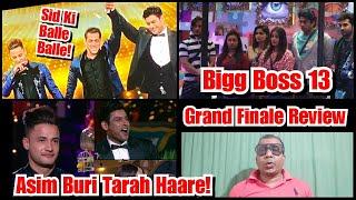 Bigg Boss 13 Grand Finale Episode REVIEW, Asim Riaz Buri Tarah Haare, Kya Siddharth Ka Jeetna Sahi?