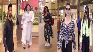 Urvashi, Ananya Pandey, Vicky & Many More Celebs Return From Guwahati | News Remind