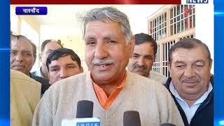 नारनौंद : सांसद धर्मवीर सिंह पहुंचे नारनौंद ! ANV NEWS HARYANA !