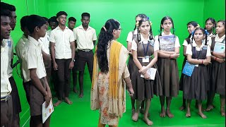 Students Of Than Govt High School Get First Hand Experience Of In Goa 24x7 Working