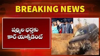 YS Jagan Brother in Law Brother Anil Met With an Car Incident | AP news | Top Telugu TV