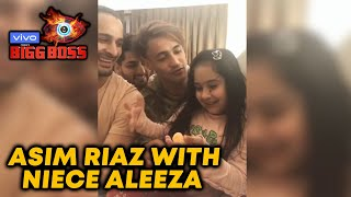 Asim Riaz Introduces His Niece Aleeza To His Fans | LIVE CHAT | Bigg Boss 13
