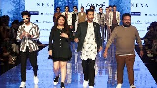 Label Pearl and Hariom Dazzles At Lakme Fashion Week With Showstopper Dheeraj And Sahil