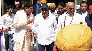 Dharmendra Attend Rikkuji Daughter Marriage In Gurudwara