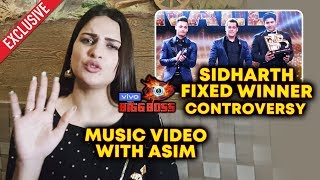 Himanshi Khurana Exclusive Interview On Asim Riaz | Sidharth Fixed Winner Controversy | Bigg Boss 13