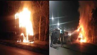Unnao में  जिंदा जले 7 लोग