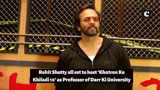 Rohit Shetty all set to host 'Khatron Ke Khiladi 10' as Professor of Darr Ki University