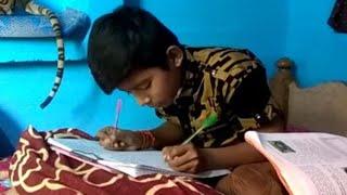 प्रतिभा का धनी बालक, दोनों हाथों से लिखता है // THE NEWS INDIA