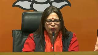 Press Conference by Smt Meenakshi Lekhi at BJP Head Office, New Delhi