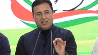 AICC Press Briefing by Randeep Singh Surjewala on Supreme Court's Decision On Women Officers