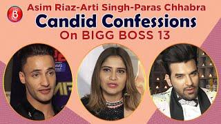 Asim Riaz, Arti Singh, Paras Chhabra's Candid Revelations On Bigg Boss 13 | Salman Khan