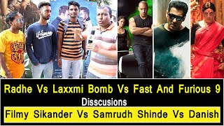 Radhe Vs Laxmmi Bomb Vs Fast And Furious 9 Discussion By Samrudh Shinde, Filmy Sikander And Danish