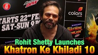Rohit Shetty Launches Khatron Ke Khiladi 10 Darr Ki University