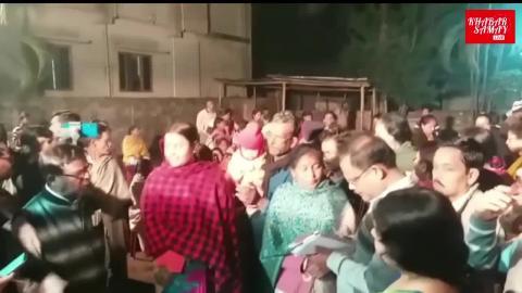 रविवार- मंत्री गौतम देव ने की कई कार्यक्रमों में शिरकत।