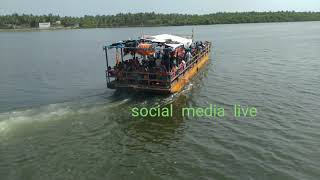 Konaseema Godavari River Most Dangerous Journey | Narsapur TO Sakhinetipalli | social media live