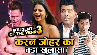Karan Johar Official Statement On Asim Riaz With Suhana Khan In Student Of The Year 3