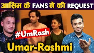 Fan Requests Asim Riaz's Dad To Accept Rashmi Desai As Bahu For Elder Son, Umar | #UmRash