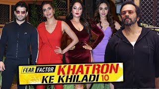 Khatron Ke Khiladi 10 Darr Ki University Grand Launch | Full Video |  Rohit Shetty, Karan Patel