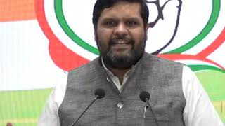 Lowest consumption in 40 years: Gourav Vallabh addresses media at Congress HQ