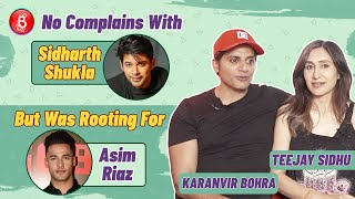 Karanvir Bohra & Teejay Sidhu Were Rooting For Asim Riaz To Win Bigg Boss 13 | Sidharth Shukla