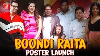 Himansh Kohli & Sonnalli Seygall Rock The Poster Launch Of Boondi Raita