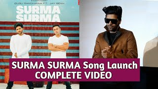 SURMA SURMA Song Launch - Guru Randhawa - Media Interaction