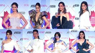 Anushka, Katrina, Deepika, Ananya, Rakul Preet & Many Celebs At Nykaa Femina Beauty Awards 2020