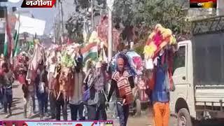कावंड़तियो की गूंज से गूंजा नगीना शहर