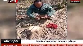 वन कर्मी पर लगाया बेशकीमती लकड़ी काटने का आरोप