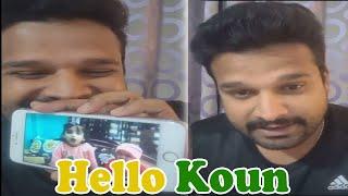 Hello Koun भोजपुरी गाना को हिंदी बोलने वालों को Live आ कर जवाब दिए Ritesh Pandey