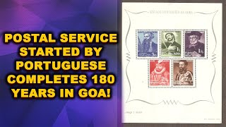 Postal Service Started By Portuguese Completes 180 Years In Goa!