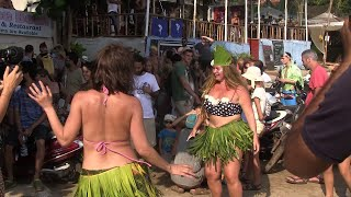 WATCH: Foreigners Carnival At Arambol Give Message To Save Forests