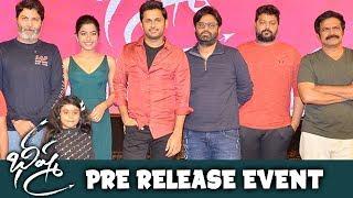 Bheeshma Pre Release Event | Nithin, Rashmika Mandanna | Venky Kudumula