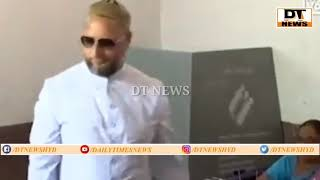 Asad Uddin Owaisi Caste's His Vote In VatteyPally  Hyderabad