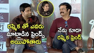 Vennela Kishore Brahmaji Making Fun Of Rashmika - Bheeshma Movie Team Hilarious Interview