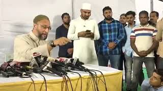 Asad Owaisi  Press Conference After Losing Seat In Bihar  DT NEWS