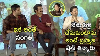 Brahmaji And Vennela Kishore Comedy With Nithin - Bheeshma Movie Team Hilarious Interview