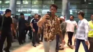 AKBARUDDIN OWAISI  Back From London  Return Hyderabad  After Treatment  Welcome With Huge Crowd
