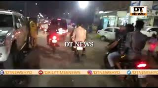 BREAKING NEWS  Tension Prevailed At Bismillah Hotel Kalapather  DT NEWS