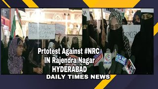 Women's Protest Against NRC,NPR,CAA | Rajendra Nagar,211 | DAILY TIMES