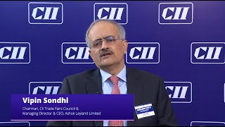 Mr Vipin Sondhi, Chairman, CII Tradefairs Council on  #Budget2020